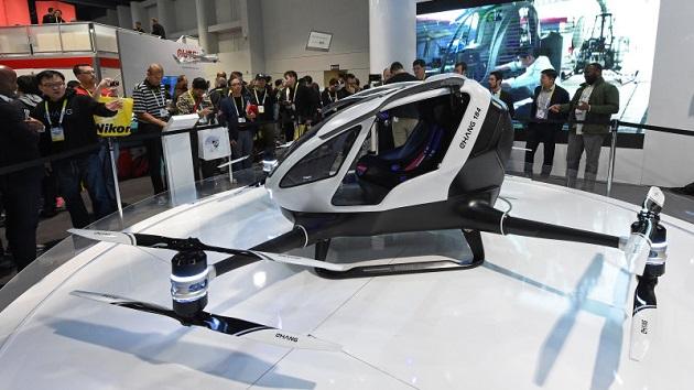 将来はドローンに乗ってカジノに行ける!? 中国製の乗用ドローンが米国ネバダ州で飛行許可を取得