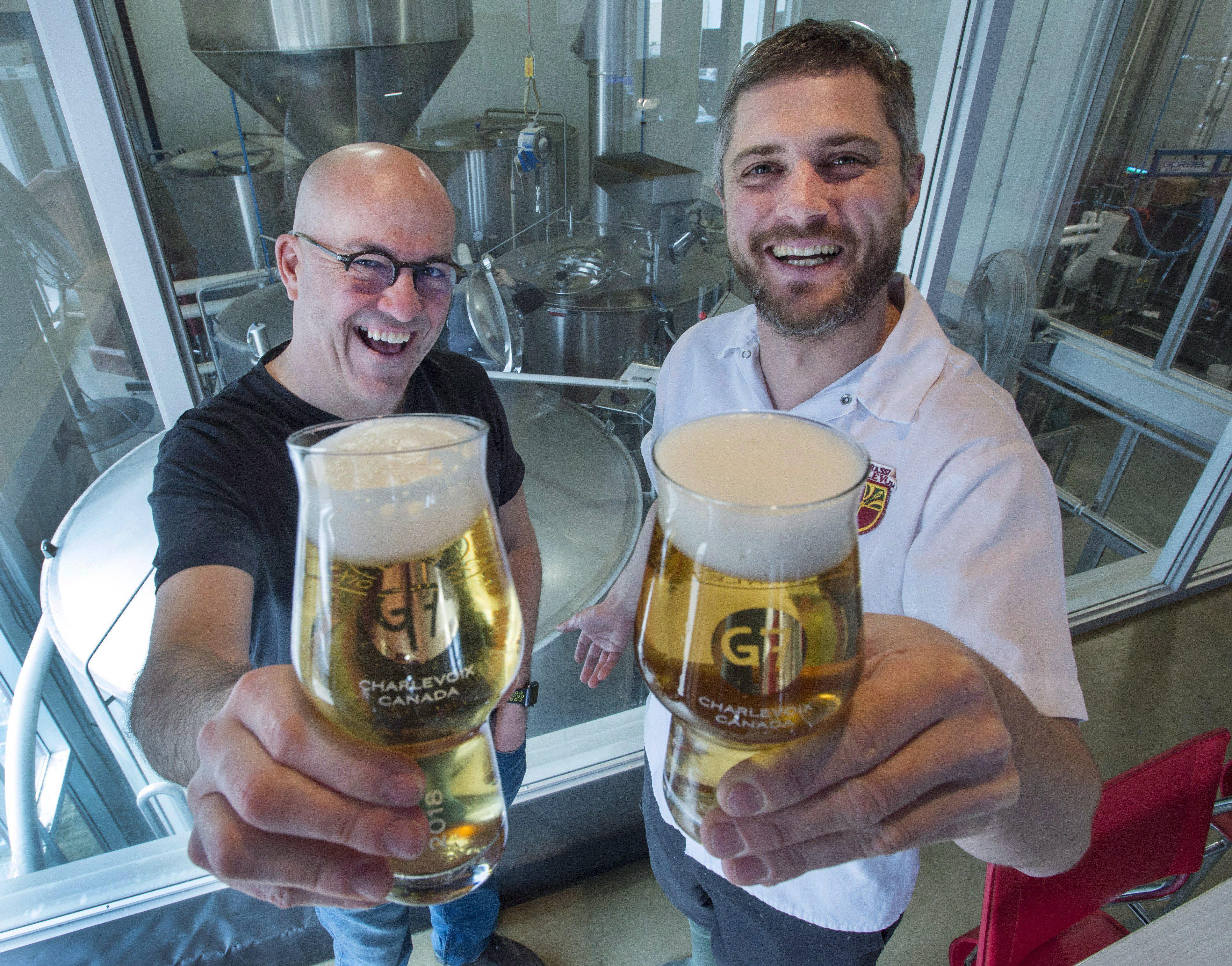 La Microbrasserie Charlevoix a brassé une bière en l'honneur du G7 à La Malbaie, ce