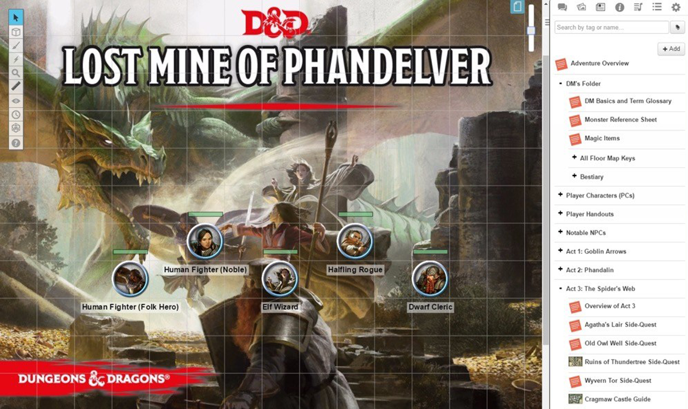 Official Dungeons And Dragons Content Now Available On Roll20