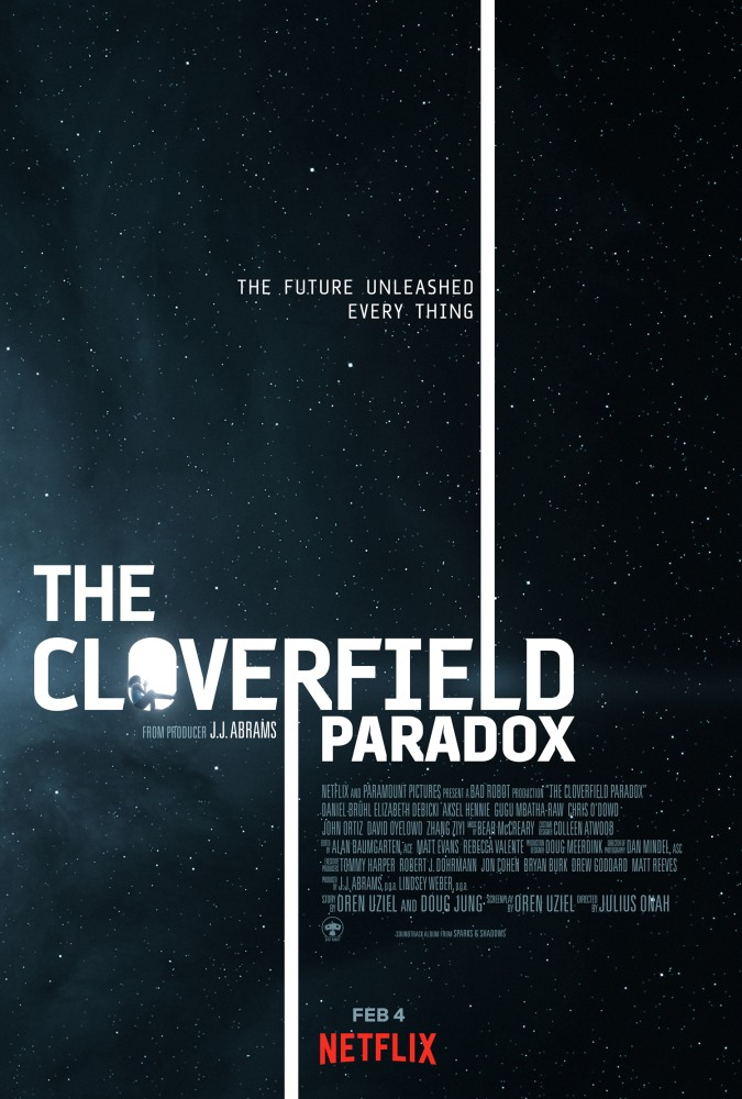 'The Cloverfield Paradox' key art