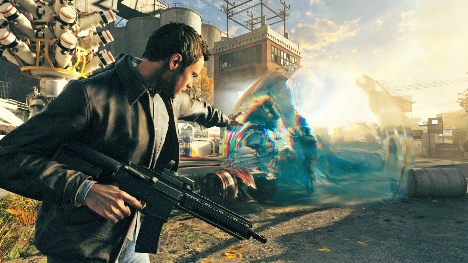 Quantum Break will be available on Steam today