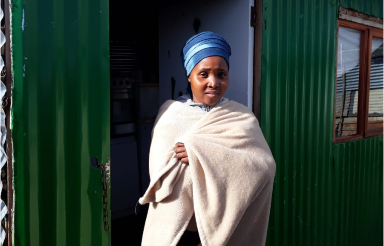 How One Woman Secures Her Shack When It