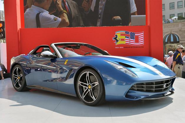 フェラーリ60周年記念イベントで北米向け特別限定モデル「F60アメリカ」がお披露目!