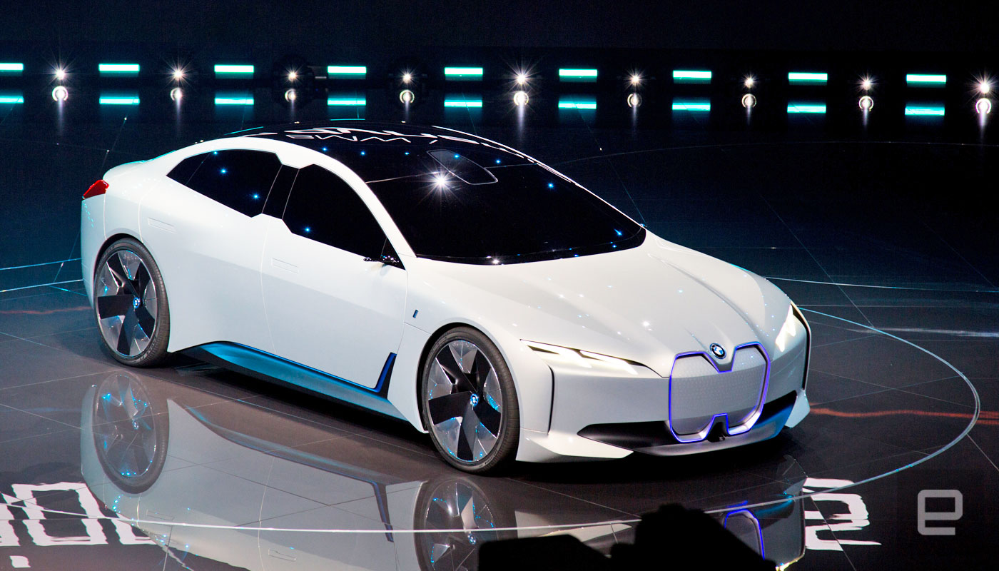 bmw unveils the zippy i vision dynamics electric concept car. Black Bedroom Furniture Sets. Home Design Ideas