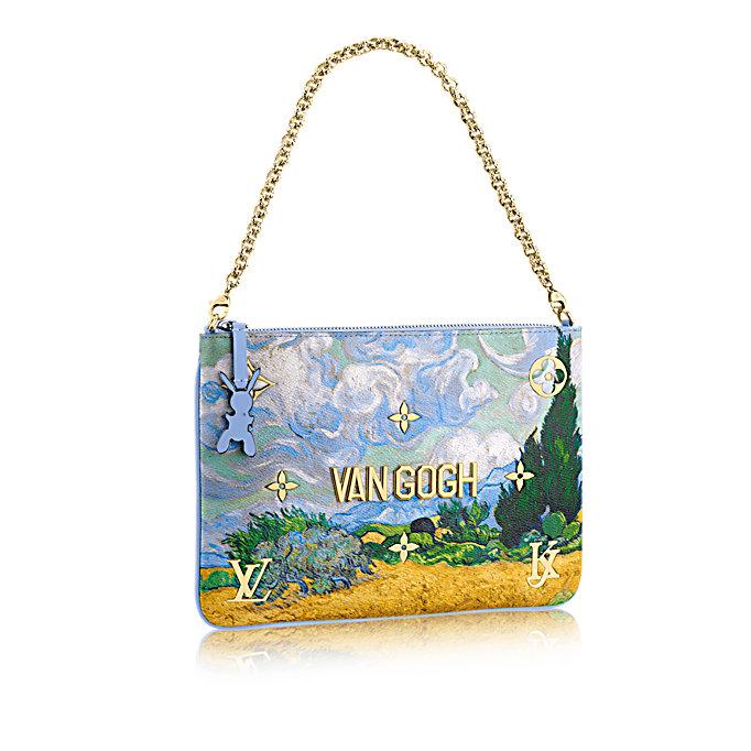 Jeff Koons recouvre les sacs Louis Vuitton d œuvres d art   Le ... e9fbd35227a