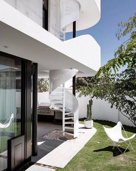 The Triple Deck House in