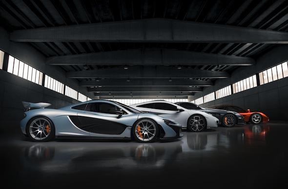 Bespoke McLaren models