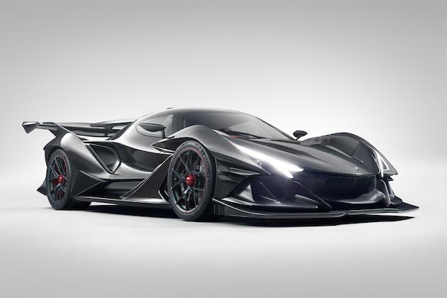 アポロ社が、6.3リッター自然吸気V12エンジンを搭載するピュアなスーパーカー「インテンサ エモツィオーネ」を発表!