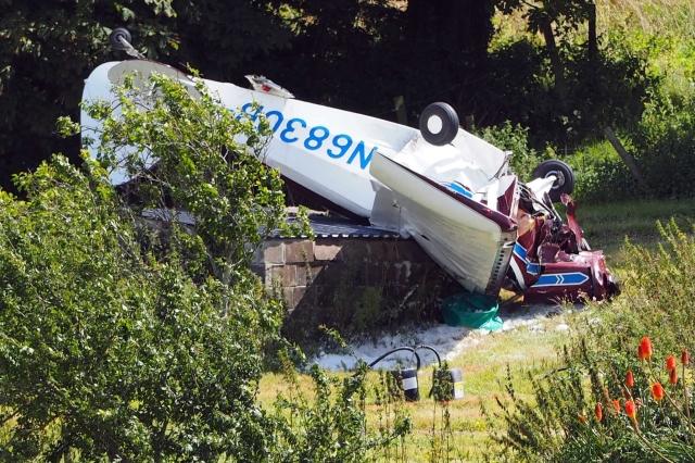 plane crash in Weymouth