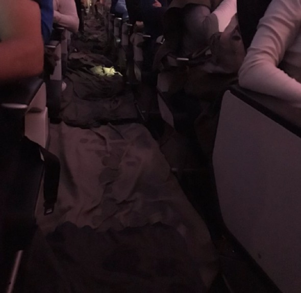 British Airways cabin floods after water pipe bursts