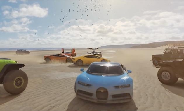 新作レーシング・ゲーム『Forza Horizon 4』の収録車種リストが公式発表 全部で450車種以上のクルマを選べる!