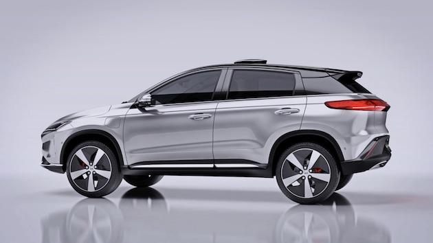 中国の新興電気自動車メーカー、...