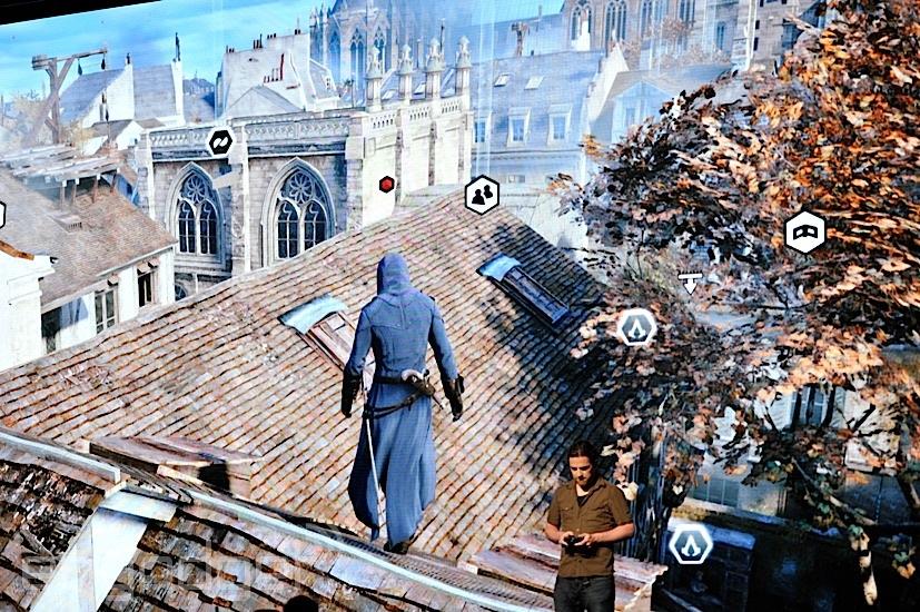 assassins creed unity gameplay