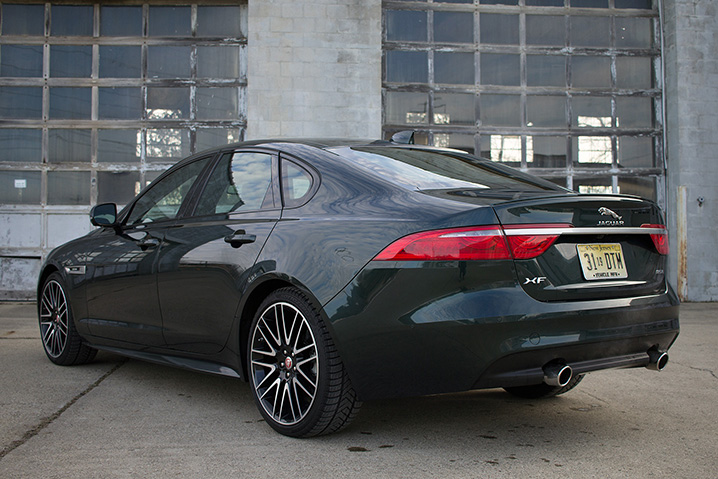 Jaguar xf review 2016