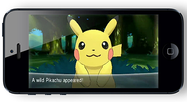 pikachu on iphone
