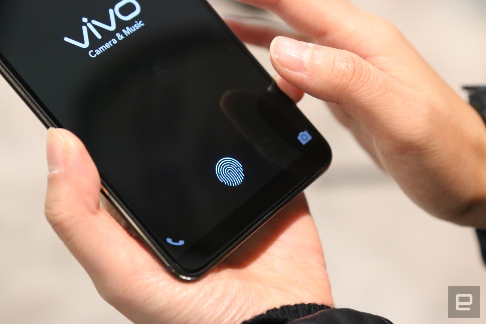 This phone's in-display fingerprint sensor is a taste of