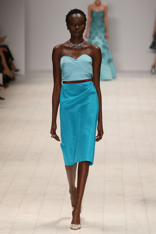 La mercedes benz fashion week 11