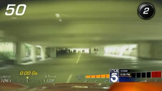 【ビデオ】新型「コルベット」に搭載された録画機能で駐車係の無謀運転が発覚!