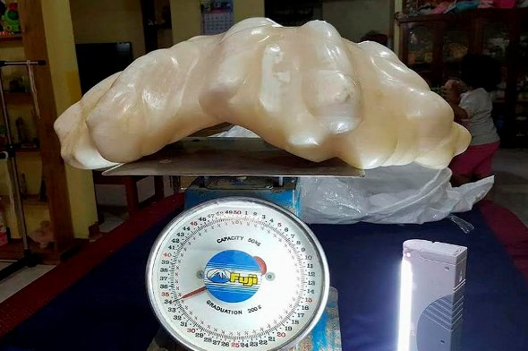 The record-breaking pearl