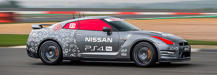 Nissan GT-R playstation controller