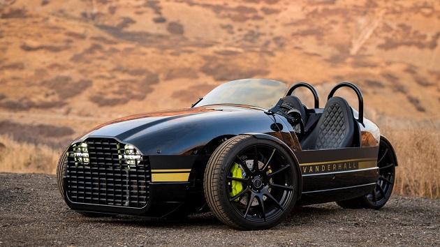 Vanderhall Motor Worksが、電動3ホイーラー「エジソン」を発表! モーガンより安くて高性能!?