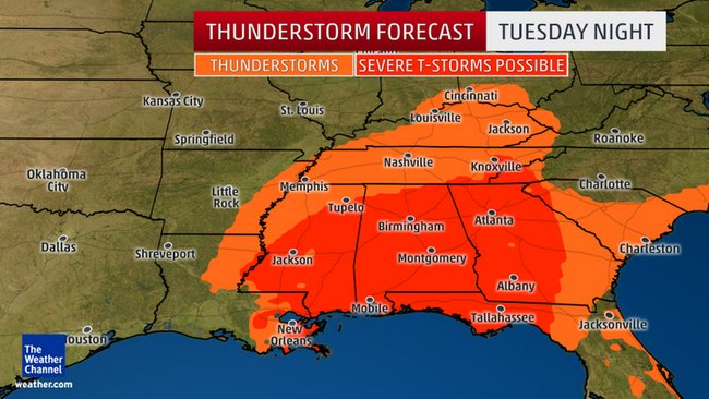 Particularly Dangerous Situation Tornado Watch Issued Tornado Outbreak Underway In The South
