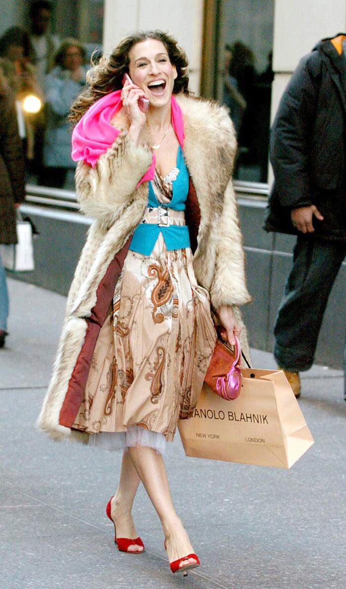 Carrie Bradshaw shopping