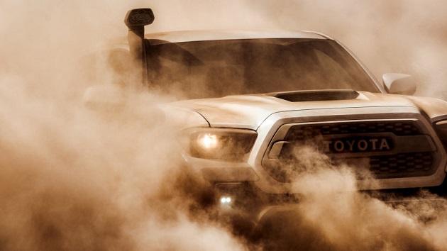 これで砂塵も渡河も洪水も恐くない! トヨタが「タコマ TRDプロ」にシュノーケルを装備!