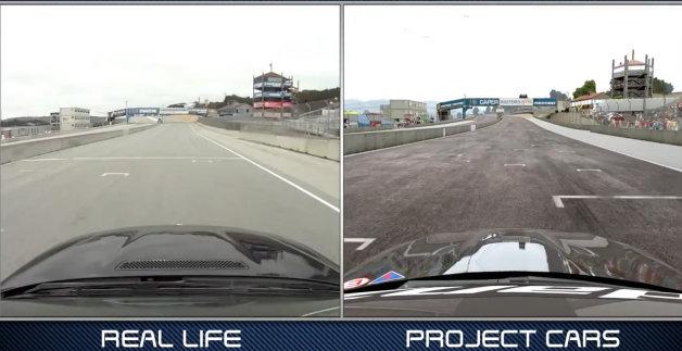 【ビデオ】実写と超リアルなゲーム画面を比較した「Project CARS」の最新ティーザー映像!
