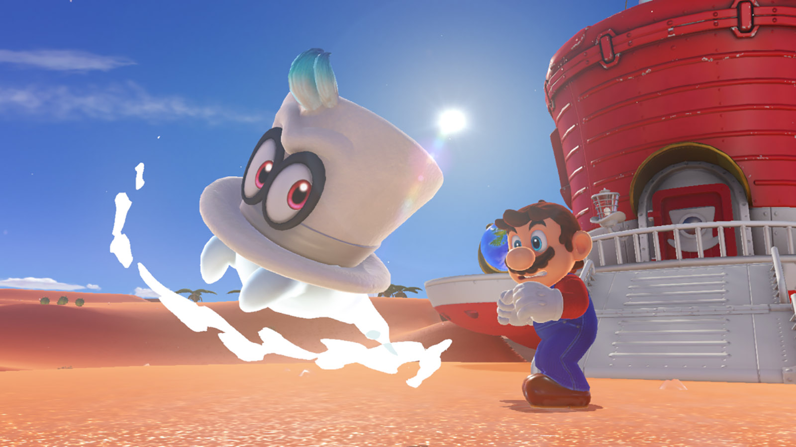 Super Mario Odyssey May Look Bizarre But It Feels Just Right