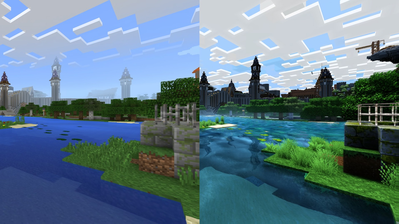 Minecraft Looks Like A Completely Different Game In 4k Engadget