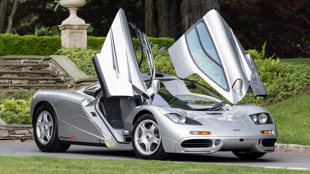 最初の「マクラーレン F1」米国仕様車がオークションに出品!