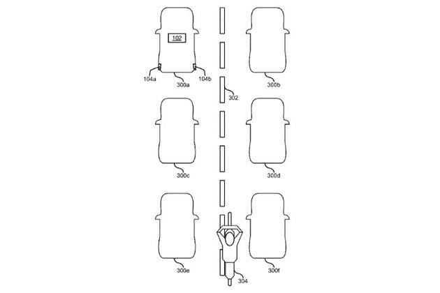 フォード、オートバイのすり抜け走行を検知する技術で特許を取得 既存の運転支援システムと連動