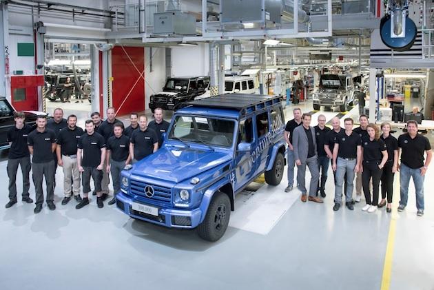 メルセデス・ベンツ、38年と5ヶ月あまりで30万台目の「Gクラス」を生産!