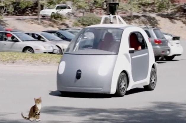 【ビデオ】やり過ぎ!? Googleが発表した完全自動運転車が'完全でなかった'としたら