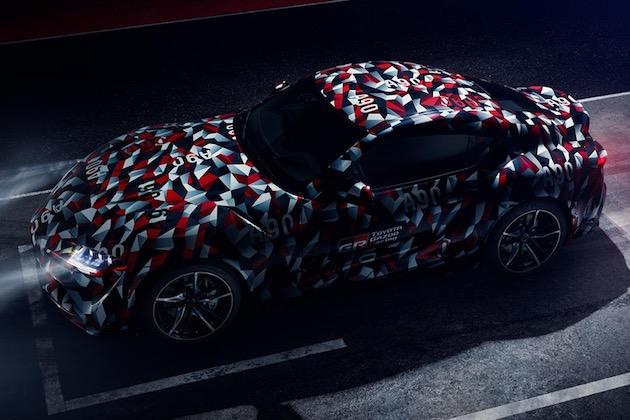 欧州トヨタ、新型「スープラ」がグッドウッド・フェスティバル・オブ・スピードに登場すると予告!