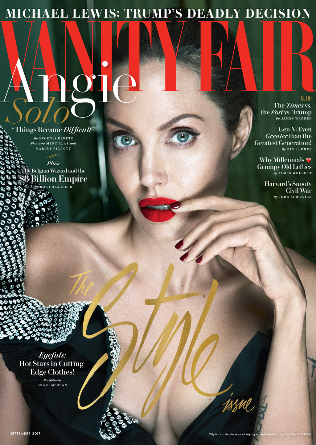 Angelina Jolie Reveals She Had Bell's Palsy, People Respond By Sharing Their Own