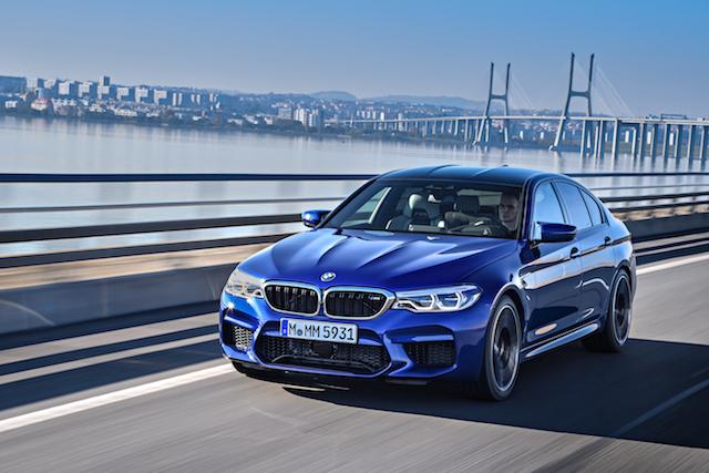 First Drive: BMW M5