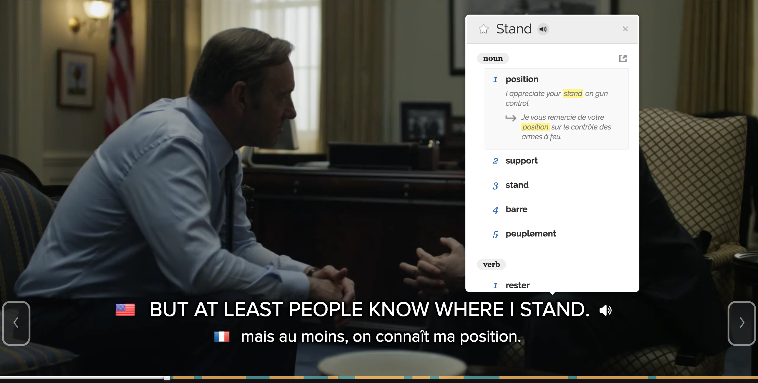 Netflix, chill and learn English with Fleex's clever subtitles