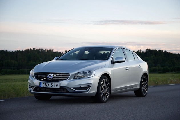 Volvo S60, exterior, front, side