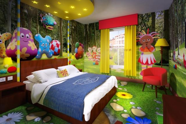 CBeebies Land Hotel bedroom