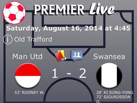 English Premier League 2014-2015 screen shot