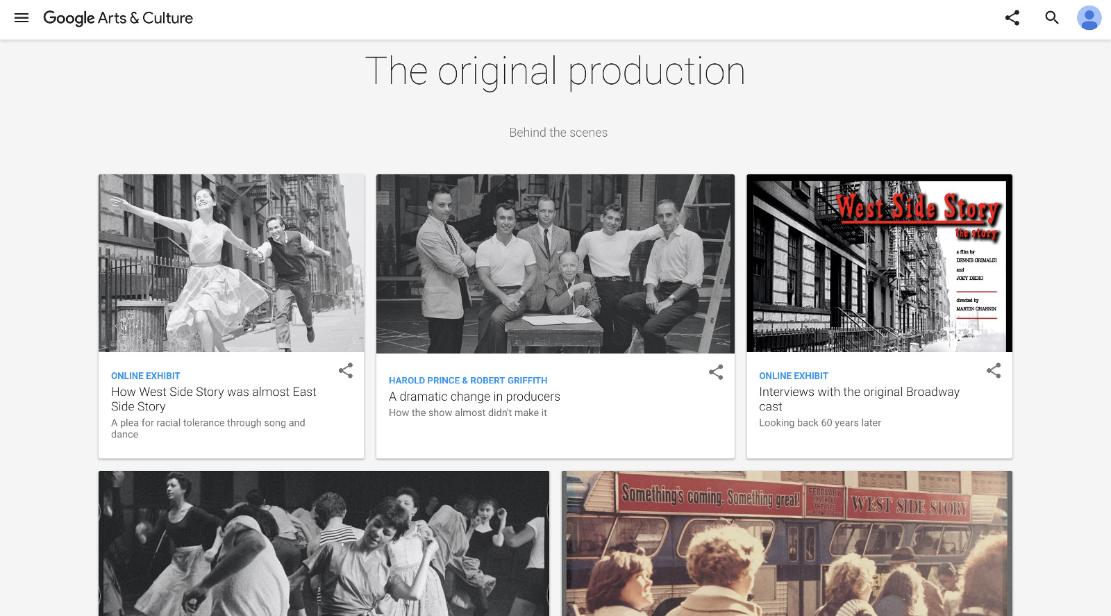 Google pays tribute to 'West Side Story' with VR pics and video
