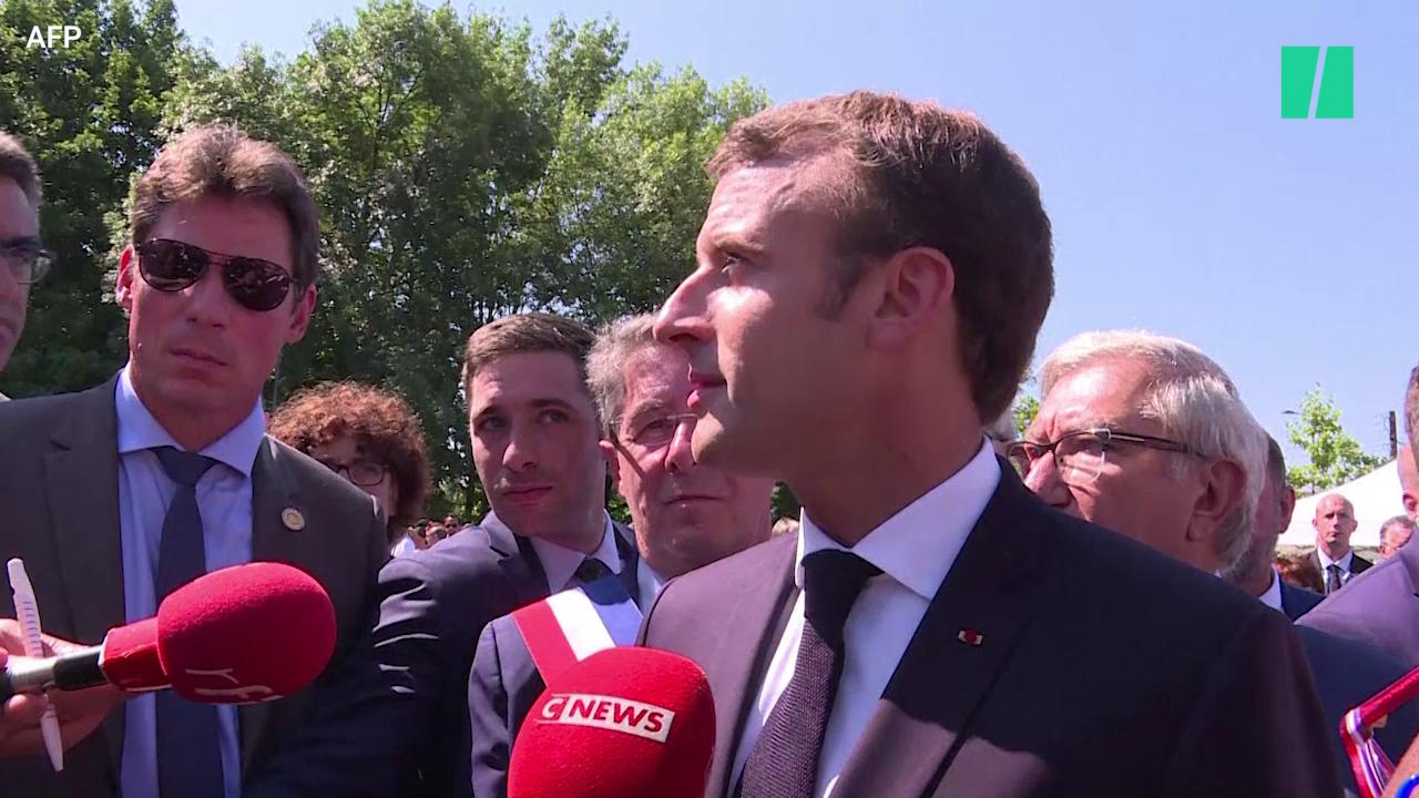 Les différentes techniques de Macron pour esquiver les questions