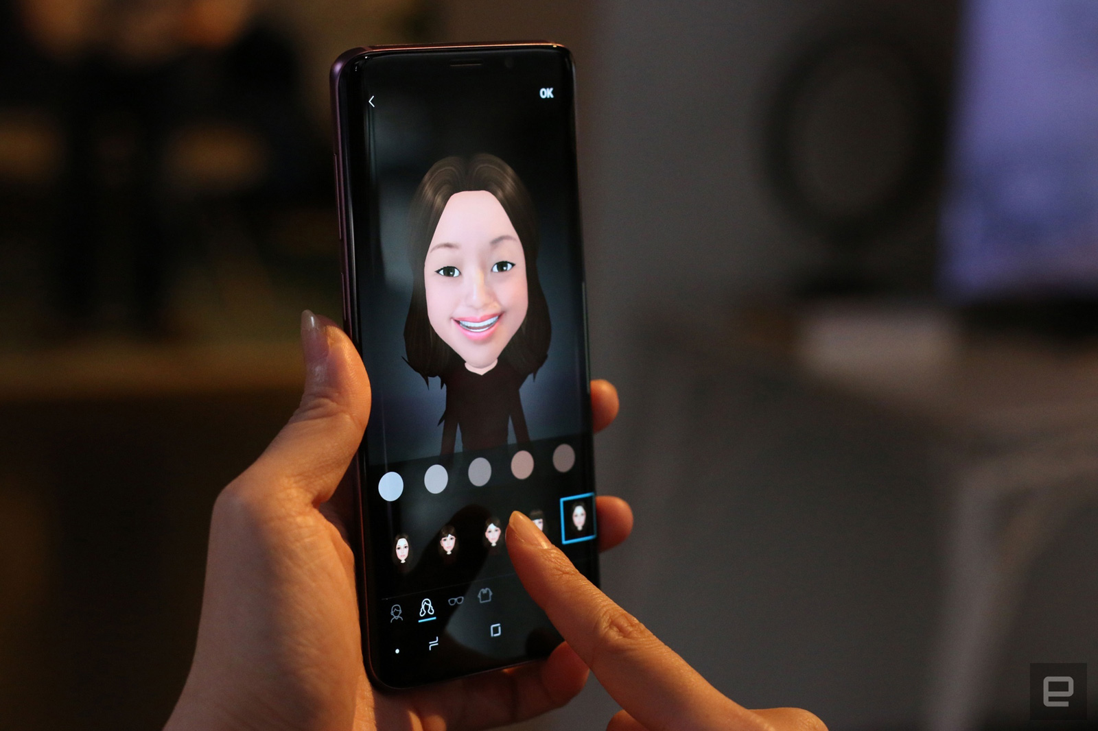 Samsung's AR Emoji may be useful for considerably more than the occasional  funny reaction GIF. The tech giant recently received a US patent for a