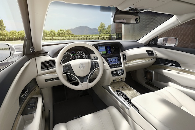 2018 Acura RLX Sport Hybrid, Seacoast interior color