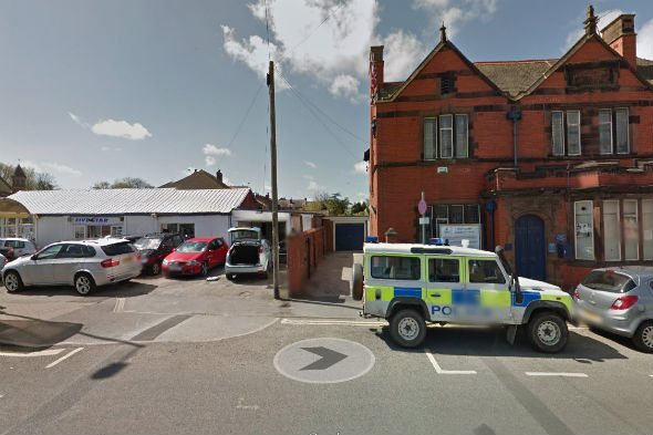 Cars stolen from garage next to police station