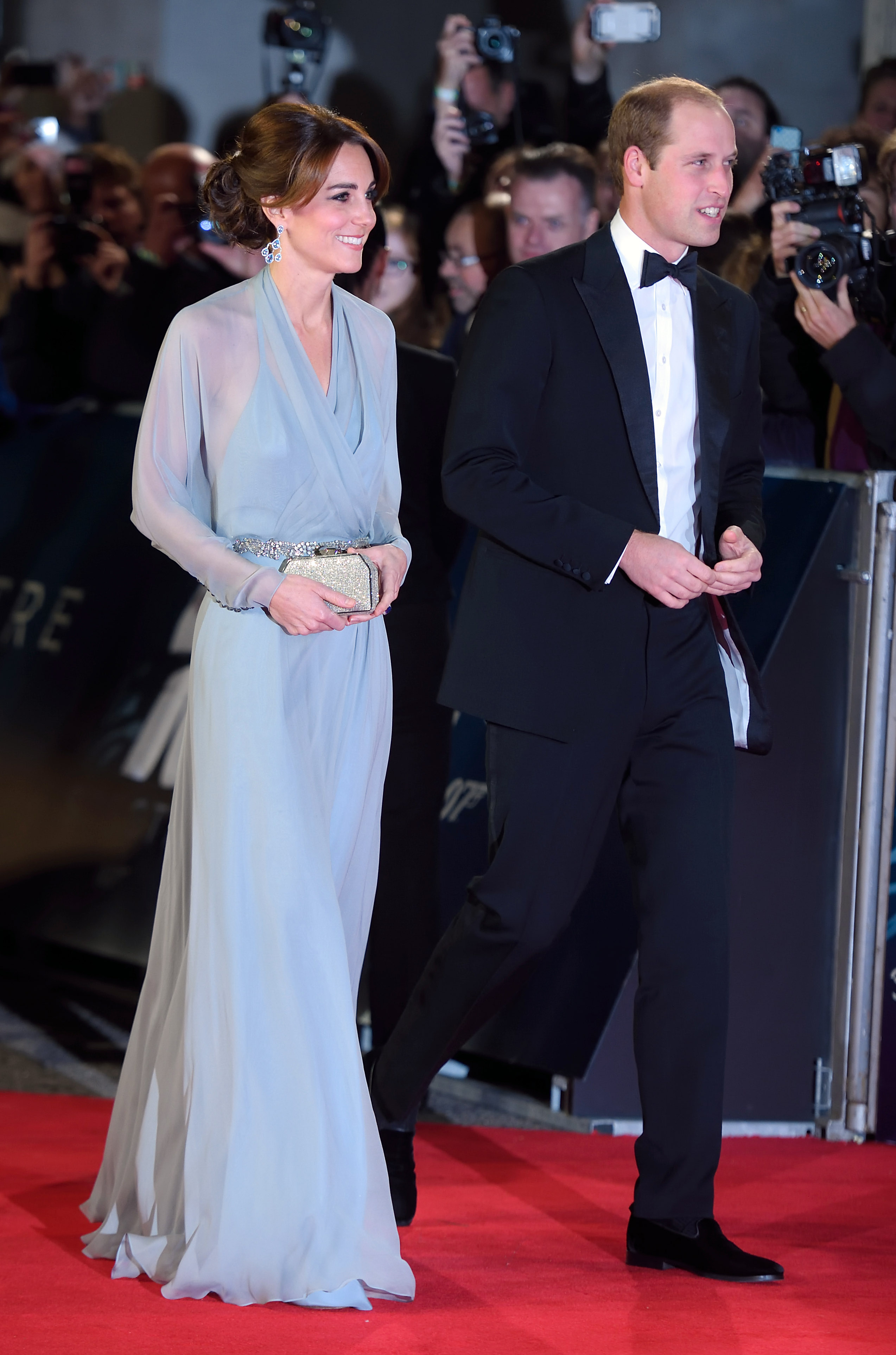 Kate Middleton and Prince William attend 'Spectre' film premiere