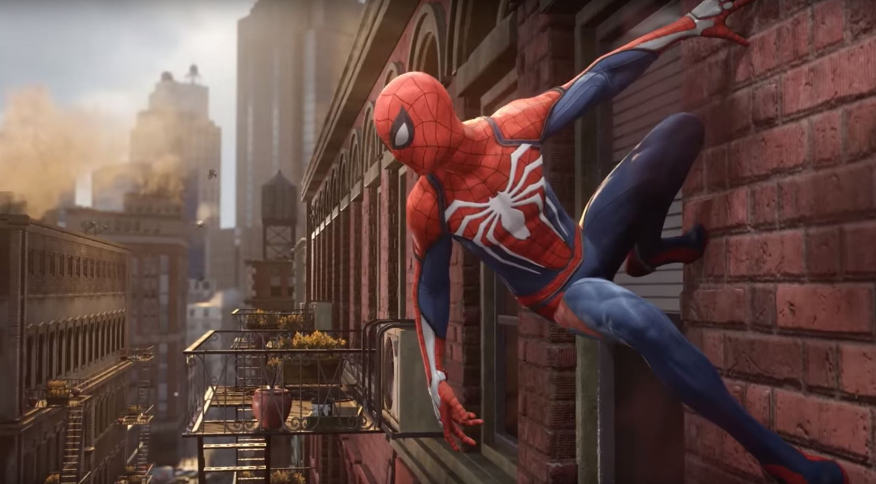 insomniac s take on spider man features an experienced hero