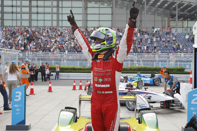 Lucas di Grassi wins Beijing ePrix